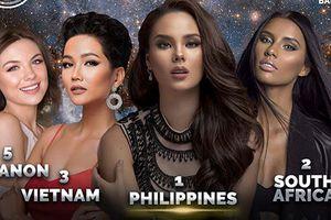 H'hen Niê được dự đoán giành á hậu 2 Miss Universe 2018