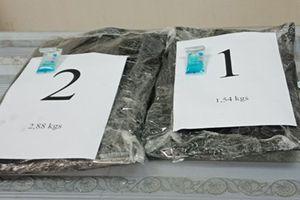 Hành khách Malaysia nhận 1.200 USD để vận chuyển 4,42 kg ma túy qua sân bay Tân Sơn Nhất