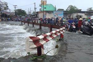 Nạn nhân bị nước cuốn trôi trong đêm bão là nam sinh Trường ĐH Sài Gòn