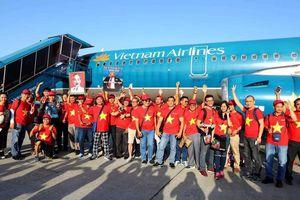 Sẽ có chuyến bay thẳng từ Hà Nội đi Bacolod phục vụ người hâm mộ Việt Nam