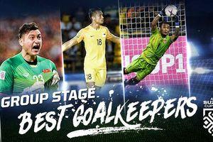 Đặng Văn Lâm lọt top 3 thủ môn xuất sắc nhất AFF Cup 2018