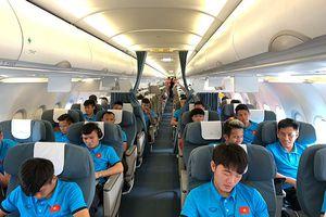 Tuyển Việt Nam lên chuyên cơ bay thẳng tới Philippines đá bán kết