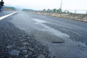 Cận cảnh lún nứt trên cao tốc Đà Nẵng – Quảng Ngãi