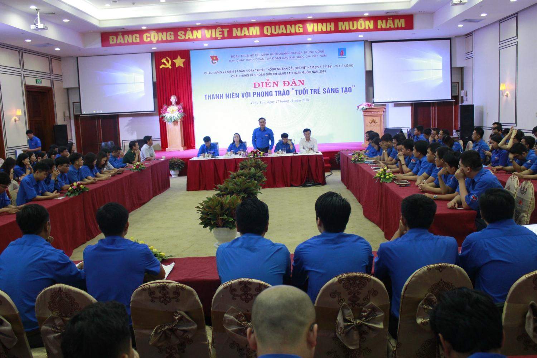Đoàn Thanh niên Tập đoàn tổ chức Diễn đàn Thanh niên với phong trào 'Tuổi trẻ sáng tạo'