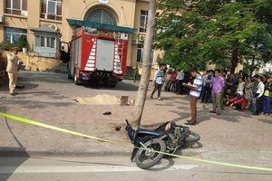 Hà Nội: Xe cứu hỏa gây tai nạn, một người tử vong