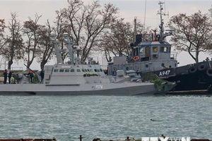Nga: Các tàu Ukraine bị bắt giữ chở nhiều vũ khí, đạn dược