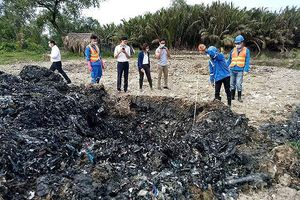 TPHCM: Vụ chôn 15.000 m3 chất thải tại Bình Chánh có dấu hiệu hình sự