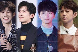 Vương Nguyên, Vương Tuấn Khải và Hà Cảnh chúc mừng sinh nhật Dịch Dương Thiên Tỉ ở tuổi 18