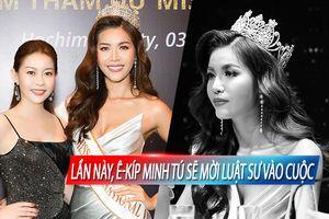 Hoa hậu Hải Dương: 'Minh Tú không thù hằn gì với kẻ hãm hại, chúng tôi sẽ mời luật sư'