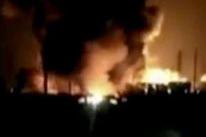 Trung Quốc: Cháy, nổ lớn tại nhà máy hóa chất 22 người thiệt mạng