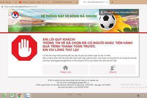 Chỉ vài phút, 20.000 vé online trận đấu giữa Việt Nam - Phillipines đã bán hết?