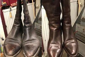 'Bỏ túi' 6 mẹo cực hay này để giày, boots da không bị bong tróc hay trầy xước