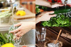 Chẳng còn lo ăn phải rau củ quả chứa thuốc trừ sâu nhờ những cách đơn giản giúp loại bỏ hoàn toàn hóa chất này