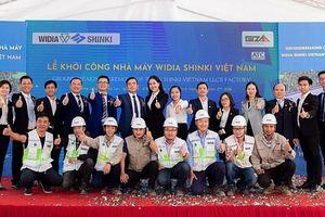 Lễ khởi công xây dựng nhà máy Widia Shinki Việt Nam