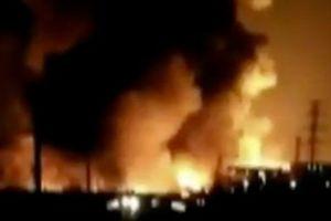 Nổ nhà máy hóa chất tại Trung Quốc, ít nhất 22 người thiệt mạng