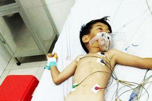 Hoàn cảnh thương tâm của bé 6 tuổi bị tai nạn giao thông