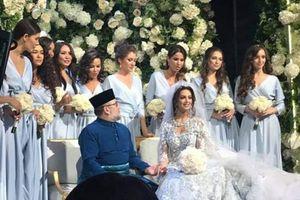Nhà vua Malaysia kết hôn với cựu Hoa hậu Moscow của Nga