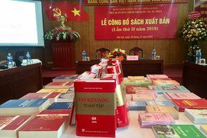 Nhà xuất bản Chính trị quốc gia Sự thật giới thiệu nhiều đầu sách giá trị