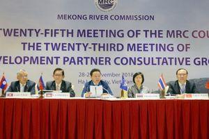 Tăng cường quản lý nguồn nước, phát triển bền vững trên lưu vực sông Mê Công