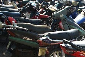 Công an quận Ba Đình tìm chủ sở hữu xe máy