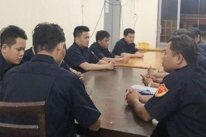 Đội dân phòng xã Bắc Sơn giúp dân ngủ yên