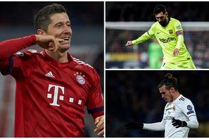 Vua phá lưới Champions League 2018/2019: Sao Bayern qua mặt Messi
