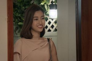 Hoa hậu Đỗ Mỹ Linh lên sóng truyền hình trong vai trò diễn viên