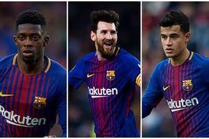 Đội hình 'siêu tấn công' giúp Barca đả bại PSV?
