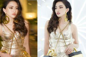 Học trò Minh Tú lăng-xê xu hướng mới nhất của thời trang thế giới