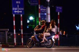 Tranh cãi việc '10 điểm nóng mại dâm' ở Hà Nội vắng phố Trần Duy Hưng
