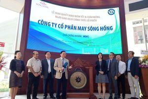 May Sông Hồng (MSH) tăng kịch trần 54.000 đồng/CP phiên chào sàn