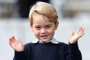 Tên gọi ngọt ngào Hoàng tử nhỏ George dành cho cha là Hoàng tử William