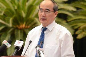 Bí thư Thành ủy TP HCM Nguyễn Thiện Nhân 'điểm danh' sở/ngành giải ngân với tốc độ 'rùa bò'