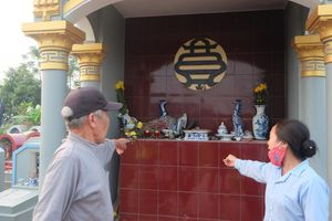 Hưng Yên: Người dân bức xúc khi gần trăm bát hương trong nghĩa trang bị đập phá chỉ sau một đêm