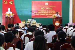 Quảng Ngãi: Sơ kết 3 năm CVĐ 'Toàn dân đoàn kết xây dựng NTM, đô thị văn minh'