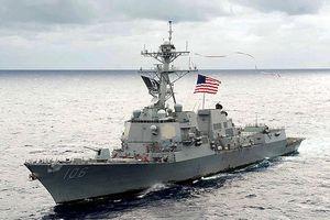 Mỹ đưa hai tàu chiến đến eo biển Đài Loan