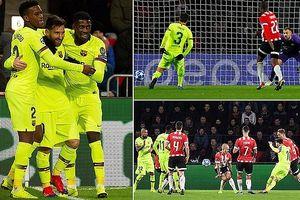 Barca, Dortmund, Atletico đi tiếp, Tottenham sống lại hy vọng