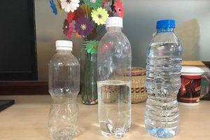 Tại sao không nên tái sử dụng chai nhựa đựng nước