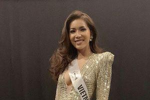 Minh Tú lại gặp rắc rối ở Hoa hậu Siêu quốc gia