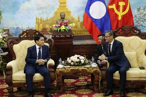 Chủ tịch UBND TP Hà Nội chúc mừng kỷ niệm 43 năm quốc khánh nước CHDCND Lào