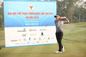 Hà Nội giành 2 HCV cá nhân môn Golf tại Đại hội Thể thao toàn quốc lần thứ VIII