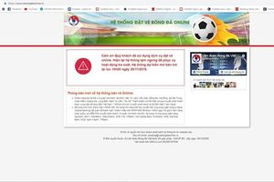 Bán vé online trận Việt Nam - Philippines đợt cuối: 5 phút đã hết hàng
