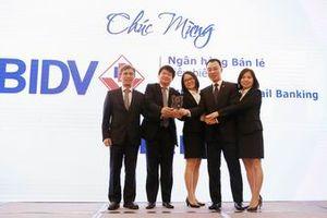 BIDV 3 năm liên tiếp là 'Ngân hàng bán lẻ tiêu biểu'