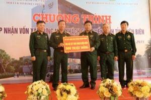 Tiếp nhận 500 triệu đồng xây dựng nhà khách CCB Điện Biên