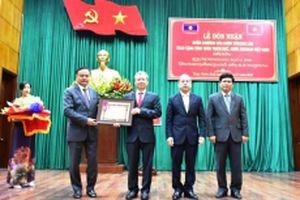 TT-Huế đón nhận Huân chương Lao động hạng Nhất do CHDCND Lào trao tặng