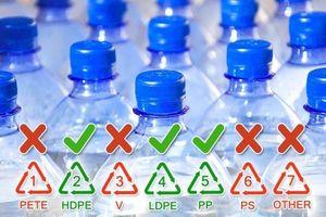 Tái sử dụng chai nhựa đựng nước nguy hiểm thế nào?