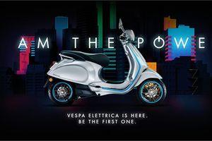 Xe máy điện 'sang chảnh' Vespa Elettrica sắp bán tại VN