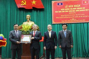 Thừa Thiên - Huế đón nhận Huân chương của Chủ tịch nước CHDCND Lào trao tặng