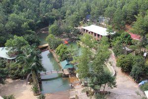 Quảng Ninh: Xây dựng hoành tráng trên đất rừng, khu du lịch sinh thái rộng hàng nghìn mét vuông vẫn chưa được cấp phép