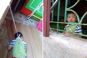 Phẫn nộ vụ bé trai 4 tuổi bị buộc dây treo lên cửa sổ phòng học ở Nam Định